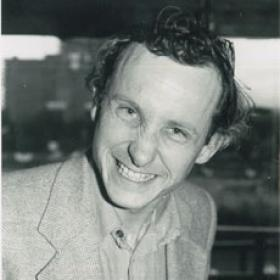 Richard Sandbrook in his 20s